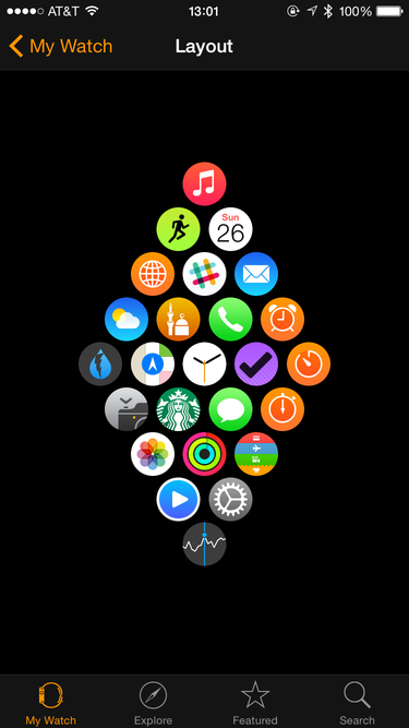 I'm not really obsessive, but I hope I don't have to add any new apps to my Apple Watch any time soon.